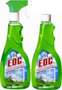 Средство для мытья стёкол Зелёное яблоко